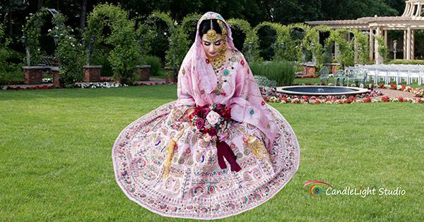 Pre-wedding Bridal Portrait Session for South Asian Brides
